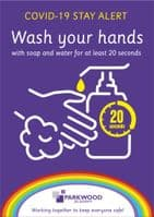 Stay Alert - Wash Your Hands Sign
